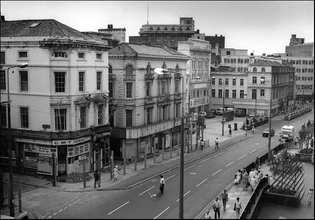 Photo of Clayton Square in 1986