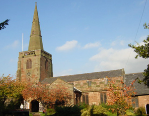 Photo of All Saint's Parish Church, Childwall, taken by Sue Adair for Geograph.org.uk