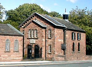 Photograph of Toxteth Chapel, by Neil Evans via Wikipedia