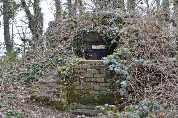 Photograph of the ice house at HAle Hall
