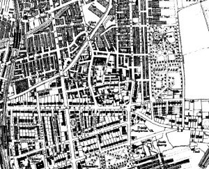 Bootle on the Ordnance Survey map of 1910