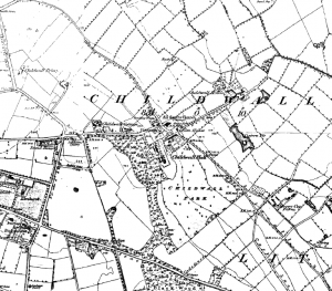 Ordnance Survey map of Childwall, 1849