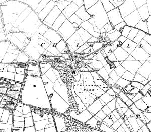 Ordnance Survey map of Childwall, 1849
