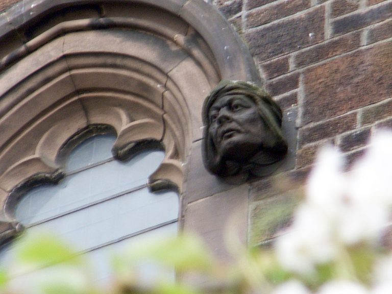 Detail of Penny Lane Anglican Church 2, by dkwonsh via Flickr