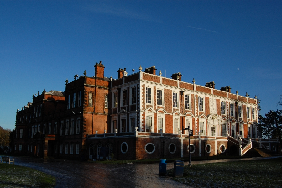 Photograph of the front of Croxteth Hall