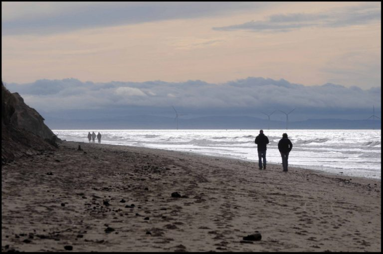 Photo of Formby Point, to the west of Lunt Meadows