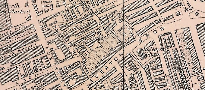 Plan of Liverpool – North Sheet (1890)