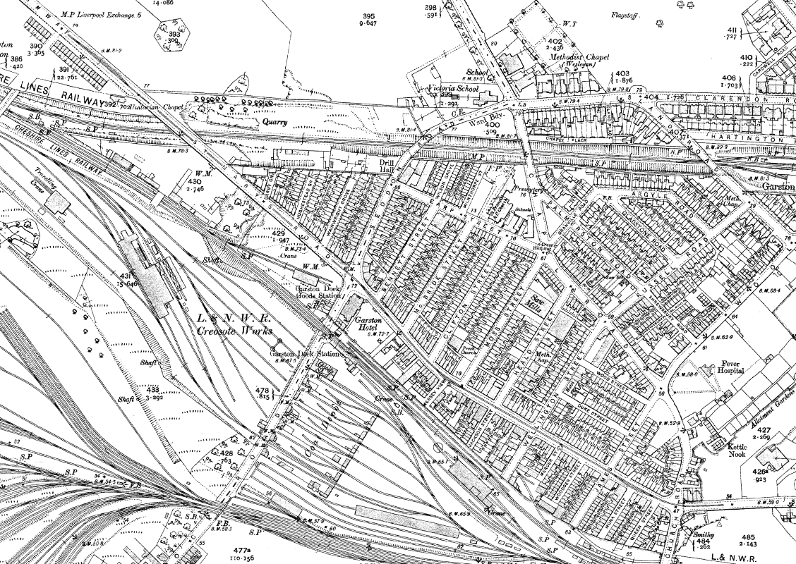 Old Maps Of Liverpool Historic Liverpool - Old maps for sale online