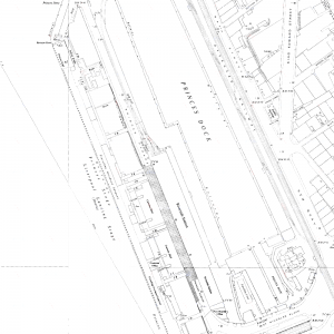 Map of Liverpool Riverside Station