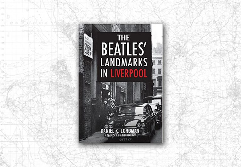 Cover of Beatles Landmarks book