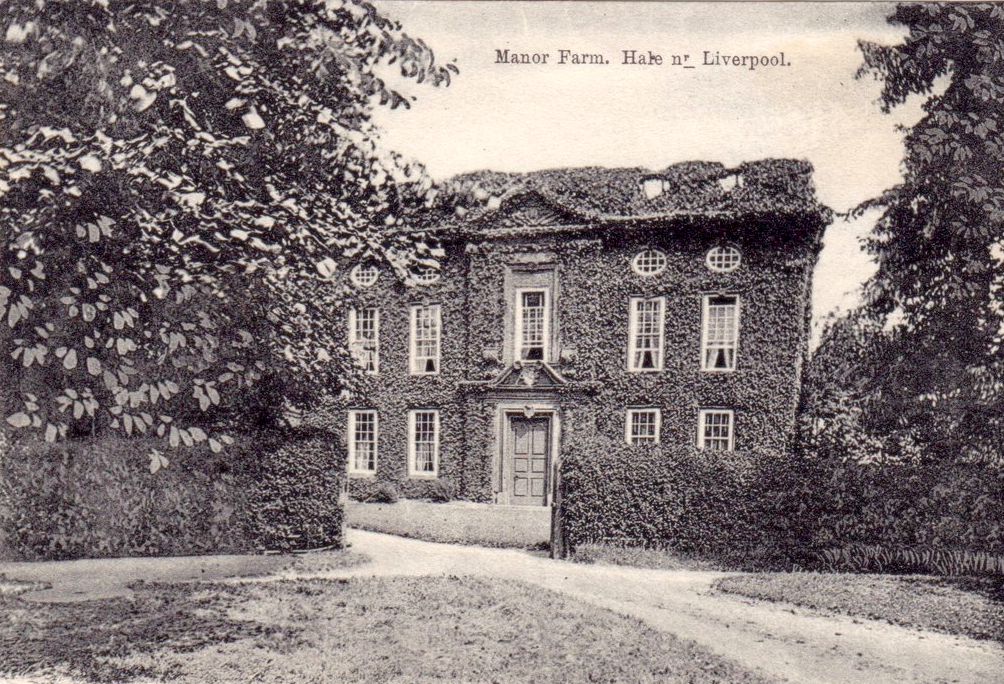 Photograph of the Manor House, Hale
