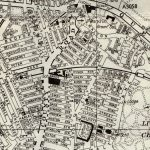 Map of Toxteth, Liverpool, in the 1960s