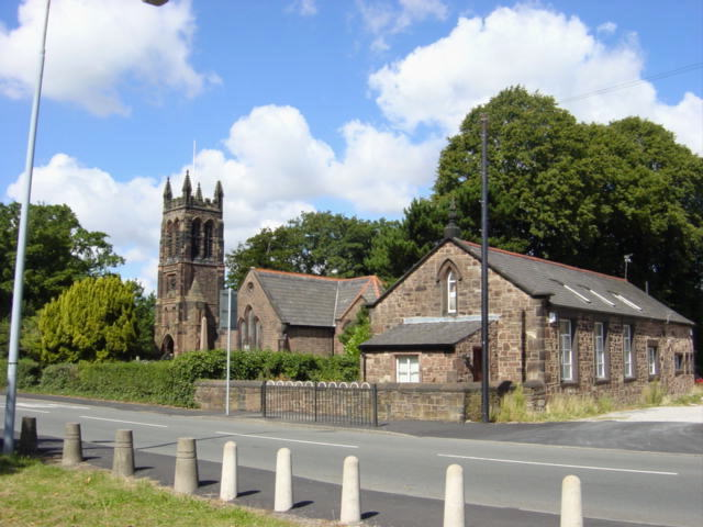 Photograph of St. Nicholas's Church, Halewood Green