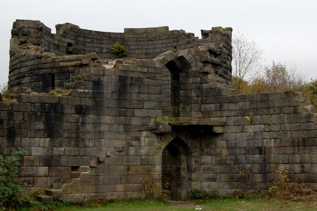 Photograph of the Liverpool Castle Reconstruction, Rivington, Lancashire