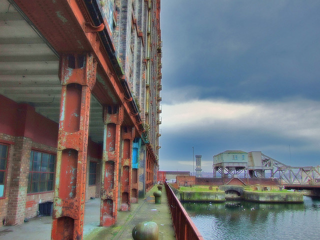 Photograph of Stanley Dock, Liverpool, by SDPD