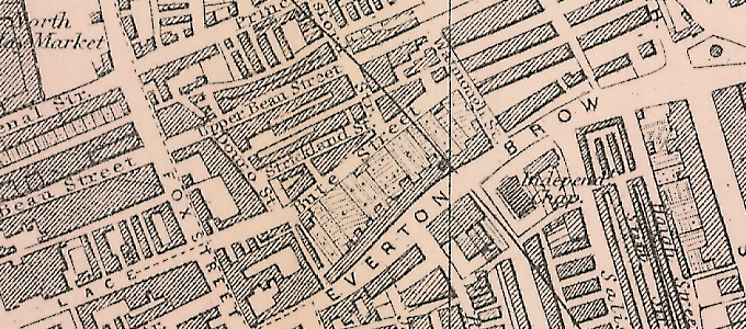 Plan of Liverpool – North Sheet (1890)