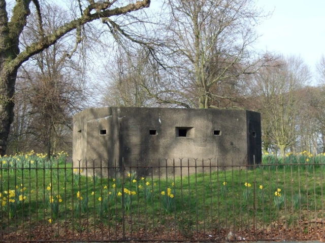 Clarke Gardens Pillbox