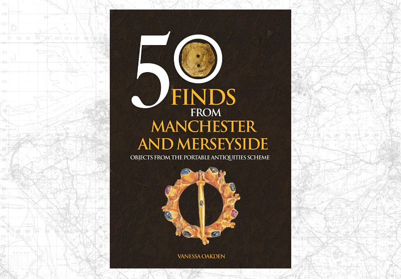 Photograph of the cover of 50 Finds from Manchester and Merseyside