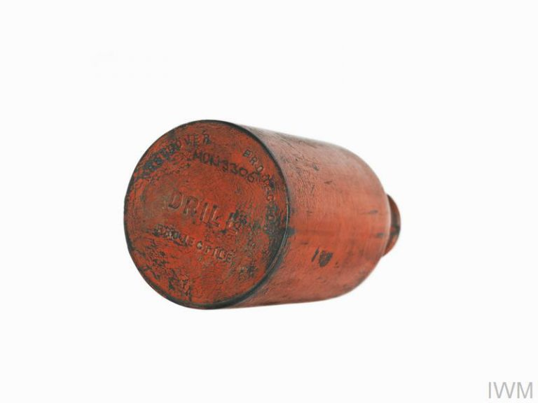 Photograph of an Albright and Wilson Self-Igniting Phosphorous grenade