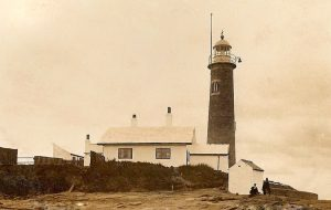 Photograph of Hale Lighthouse, likely taken in the early 20th century