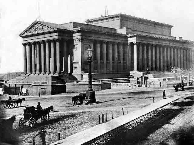 Photograph of St George's Hall, Liverpool, from the historic England Archive