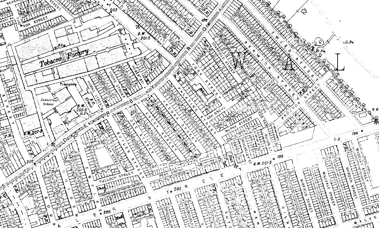 Fedora Street, 1891