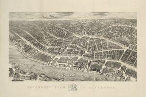 Ackermann's Panoramic View Of Liverpool