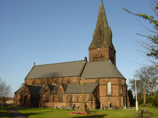 Photo of St Barnabas Church, Bromborough