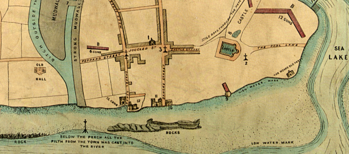 Map of Lerpole attributed to Leland