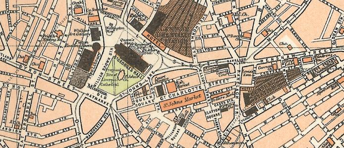 1898: Plan of Liverpool - Royal Atlas of England and Wales ...