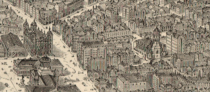 Extract from the Illustrated London News View of Liverpool