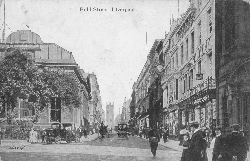 Photo of Bold Street, Liverpool, looking south east