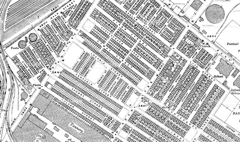 Carpathia Street, Garston, 1936-9